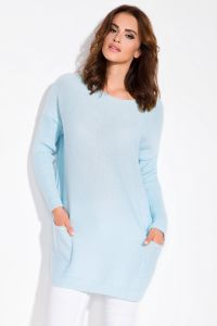 Sweter Damski Model I101 Sky Blue